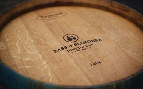 Bass and Flinders Distillery Barrel